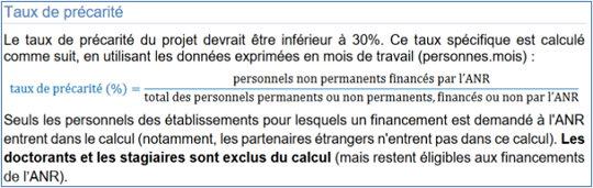 Aapg2018 Questions Frequentes Anr Agence Nationale De La Recherche
